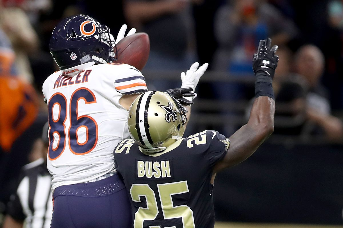 official photos aec35 4bc90 Bears vs. Saints: Zach Miller got screwed by the confusing ...