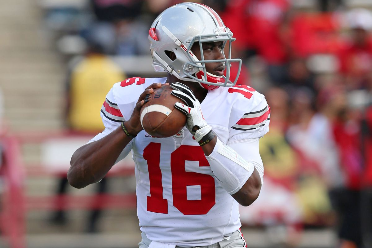A Michigan State linebacker called J.T. Barrett a better quarterback than Braxton Miller.