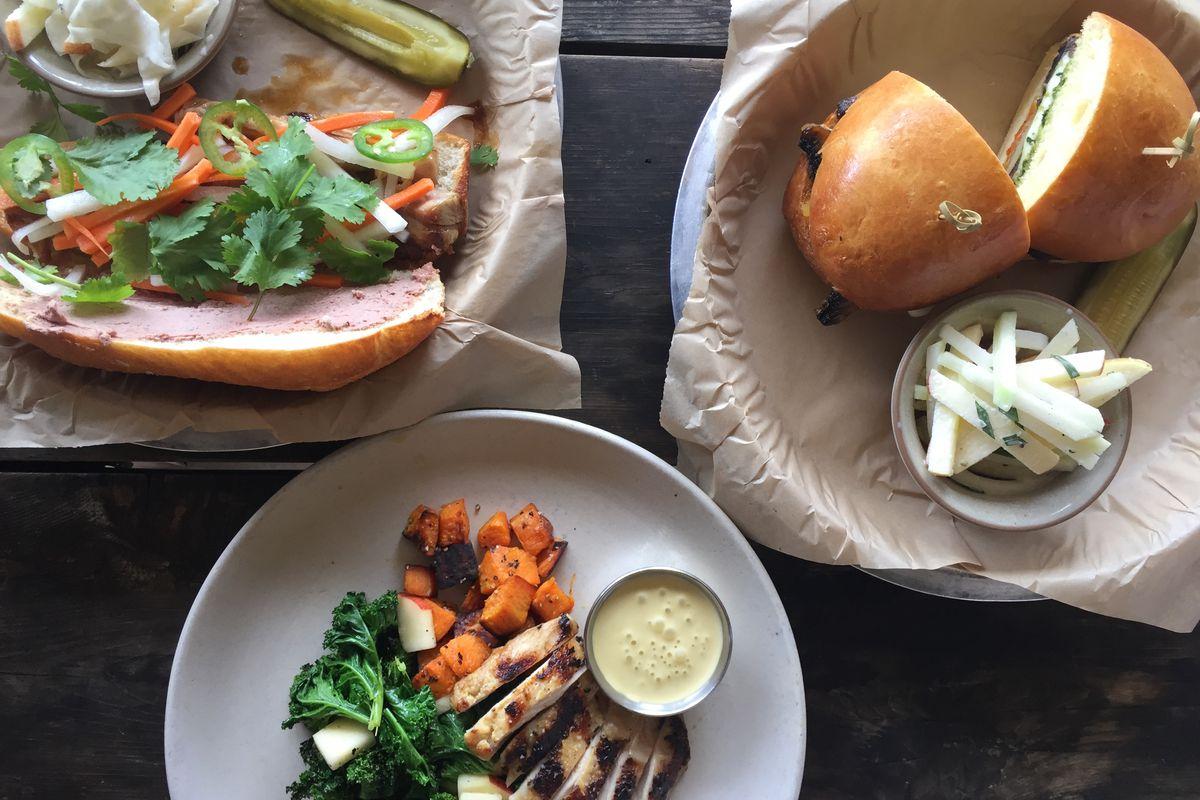 Contigo's brand new lunch dishes