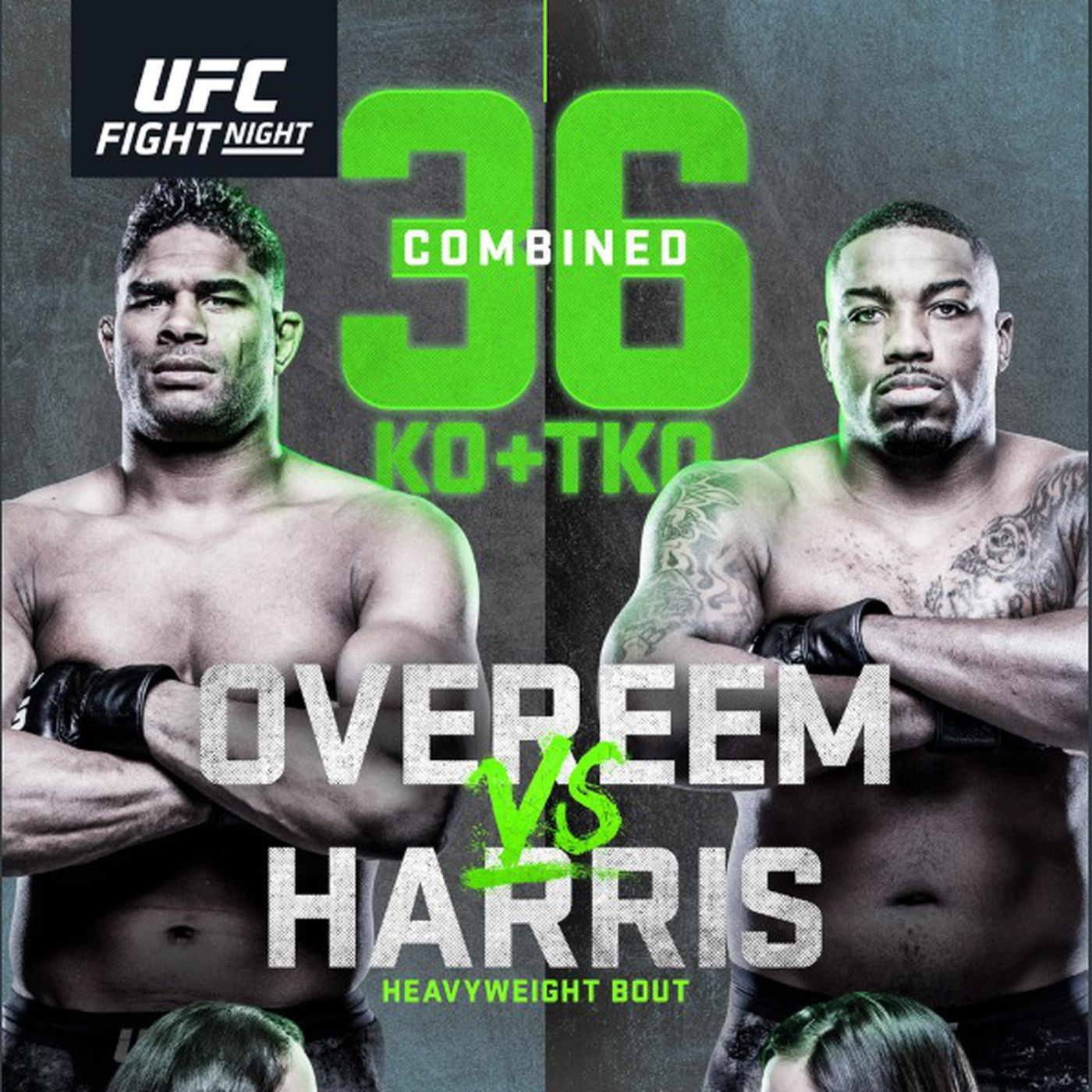 Pic Ufc Portland Poster Drops For Overeem Vs Harris On April 11 Mmamania Com
