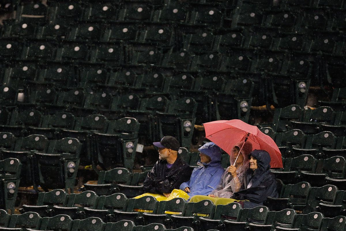 The Dodgers rained on the Rockies parade Friday night.