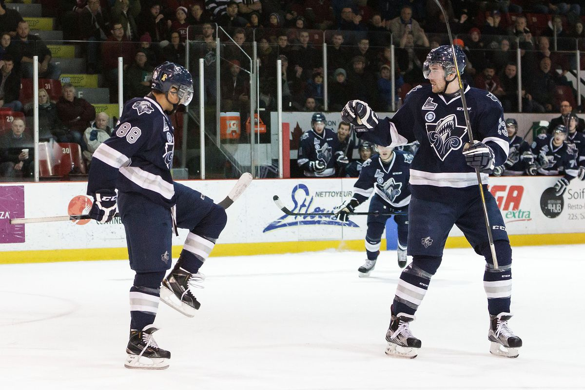Michael Joly put up four points as Rimouski stayed alive at the Memorial Cup.