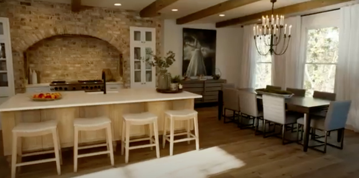 """The kitchen designed by Alison Victoria and Mike Holmes for """"Rock the Block."""""""