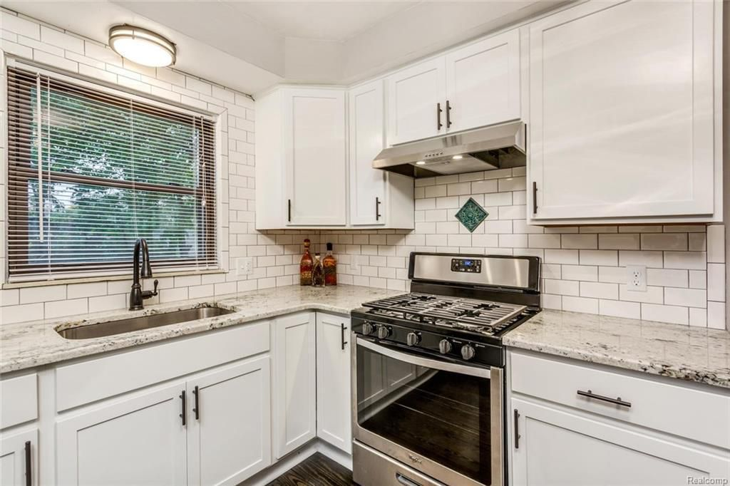 kitchen cabinets 8 mile detroit updated sherwood forest home asks 299k curbed detroit 19962