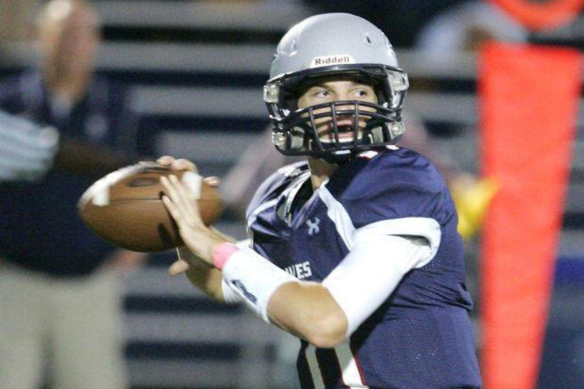 Aidan Willard aims to become a Beaver quarterback.