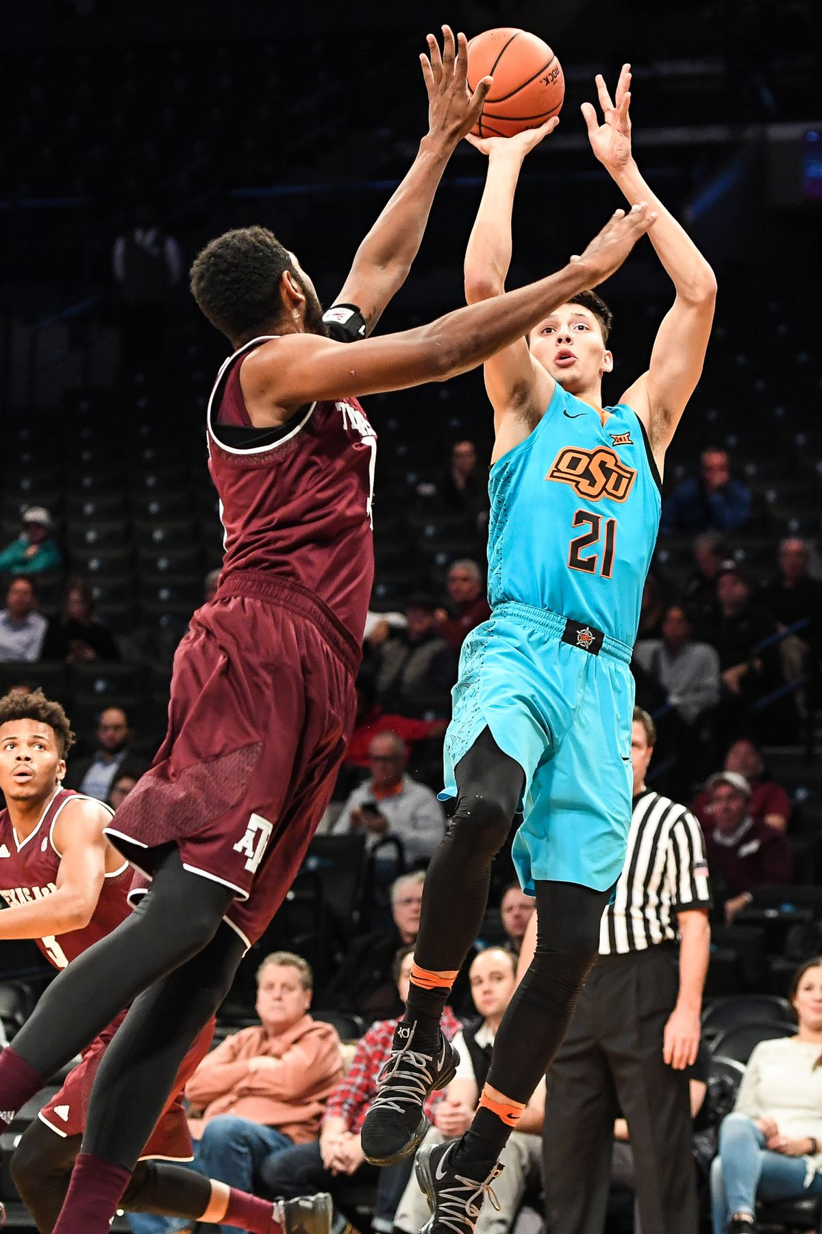 NCAA Basketball: Legends Classic-Texas A&M at Oklahoma State
