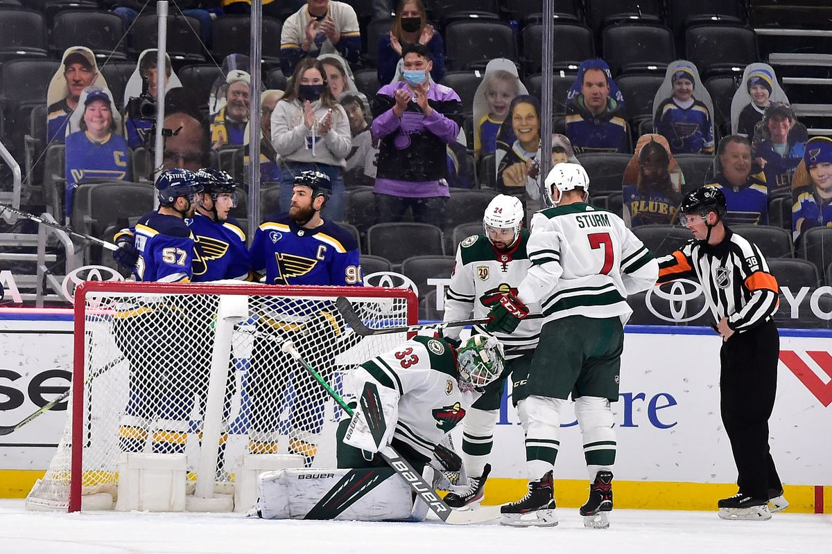 NHL: Minnesota Wild at St. Louis Blues