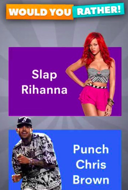 Image result for slap rihanna