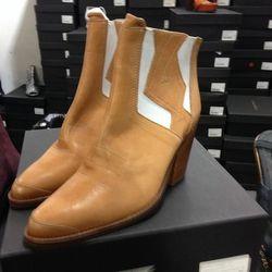 Serra Cowboy Boots, $140