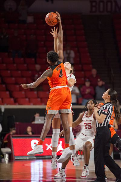 COLLEGE BASKETBALL: FEB 11 Women's Oklahoma State at Oklahoma