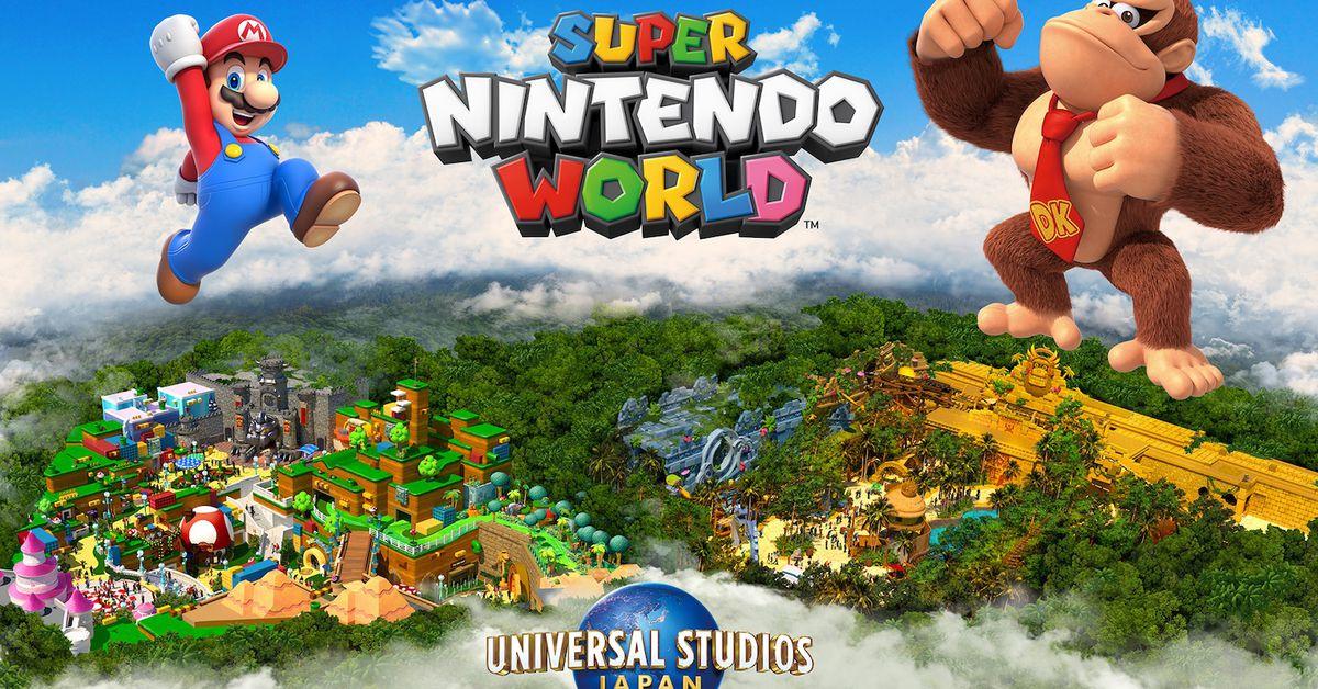 Nintendo confirms Donkey Kong territory for Super Nintendo World