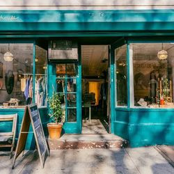 """<b>↑</b> You can really get to know local, indie designers at <a href=""""http://nymag.com/listings/stores/treehouse-brooklyn/""""><b>Treehouse</b></a> (480 Graham Avenue). The shop offers up new clothing, vintage, accessories and gifts, all with an emphasis on"""