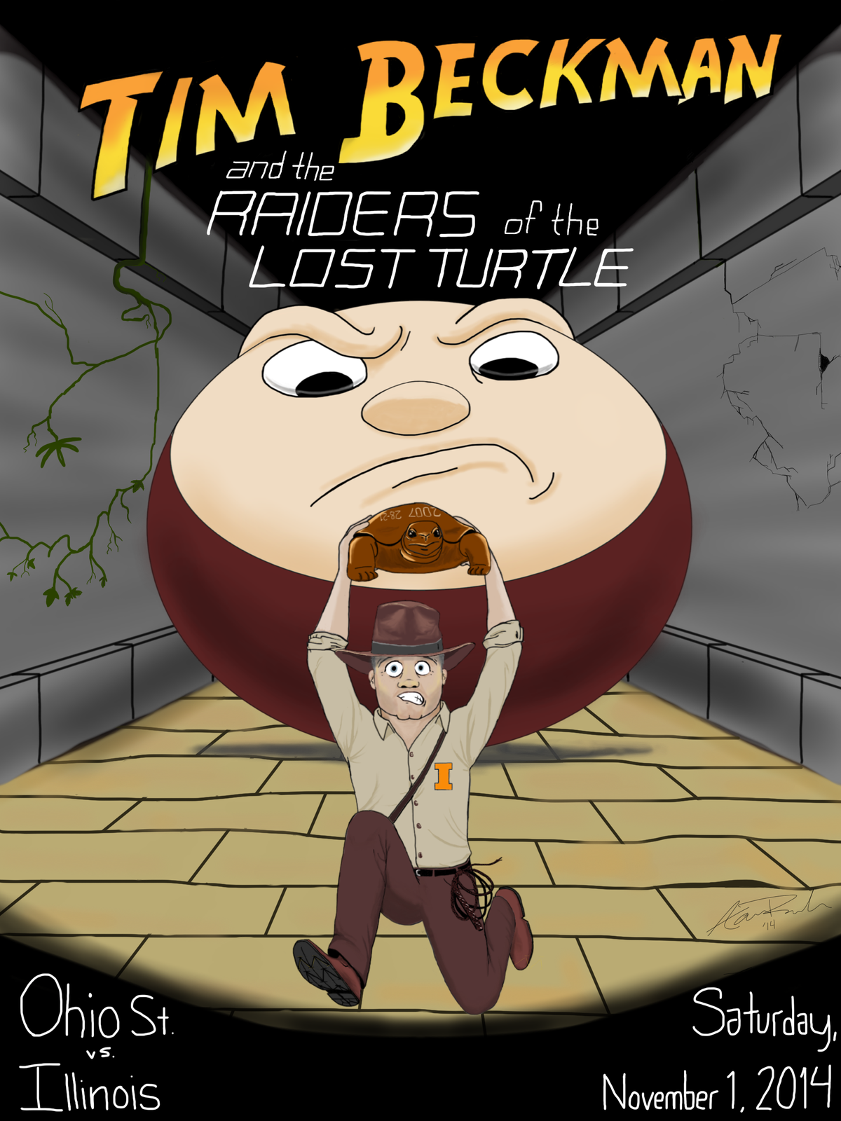 Tim Beckman and Raiders of the Lost Illibuck