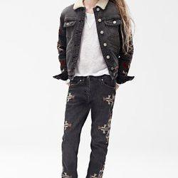 Jacket ($59.95), Long Sleeve T-Shirt ($29.95), Pants ($49.95), Shoes ($49.95)