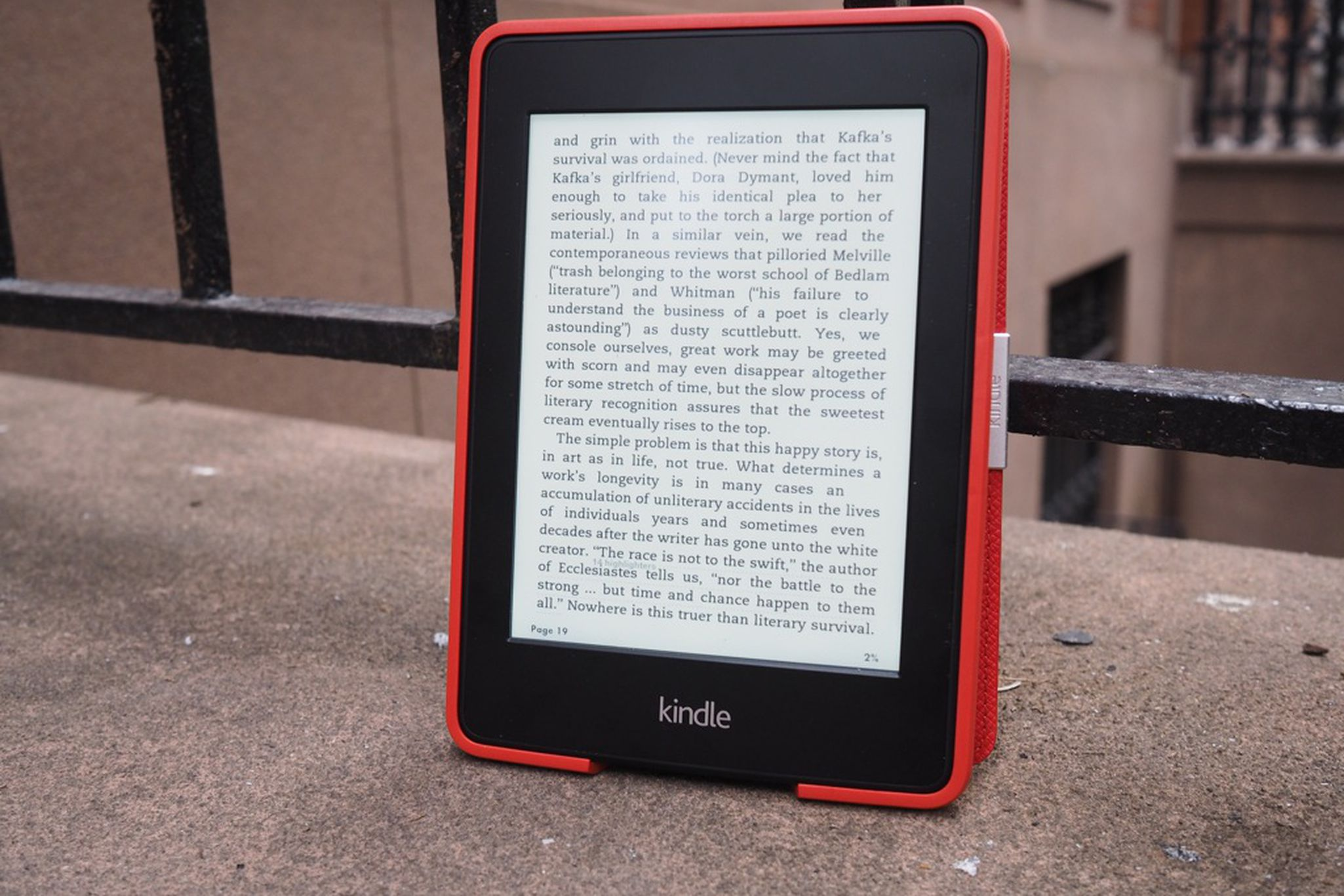 Amazon Kindle Paperwhite review (2013) | The Verge