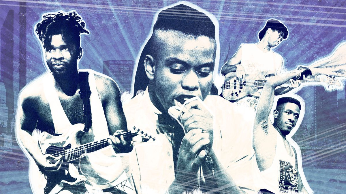 How Living Colour Reignited Rocks Cult Of Personality The Ringer Tom Morello Guitar Wiring Diagram Getty Images Illustration
