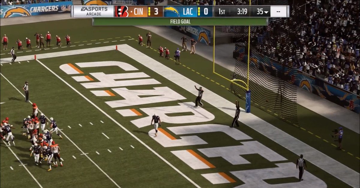 Bengals at Chargers Madden simulation: Cincinnati miraculously holds Los Angeles touchdown-less