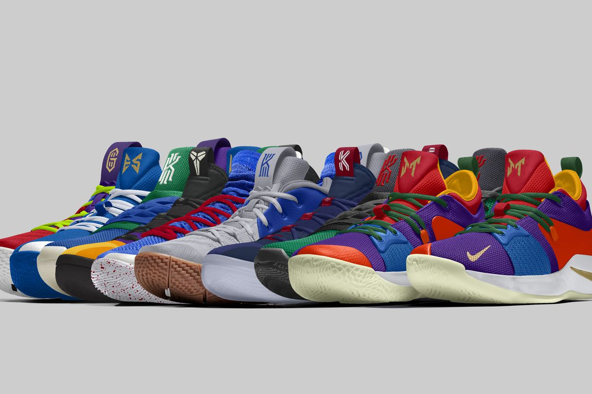 wholesale dealer 5c2e9 8a510 Jayson Tatum, Kyle Kuzma among 9 stars who created Nike shoes for NBA  opening week. The NBA s newly relaxed color ...