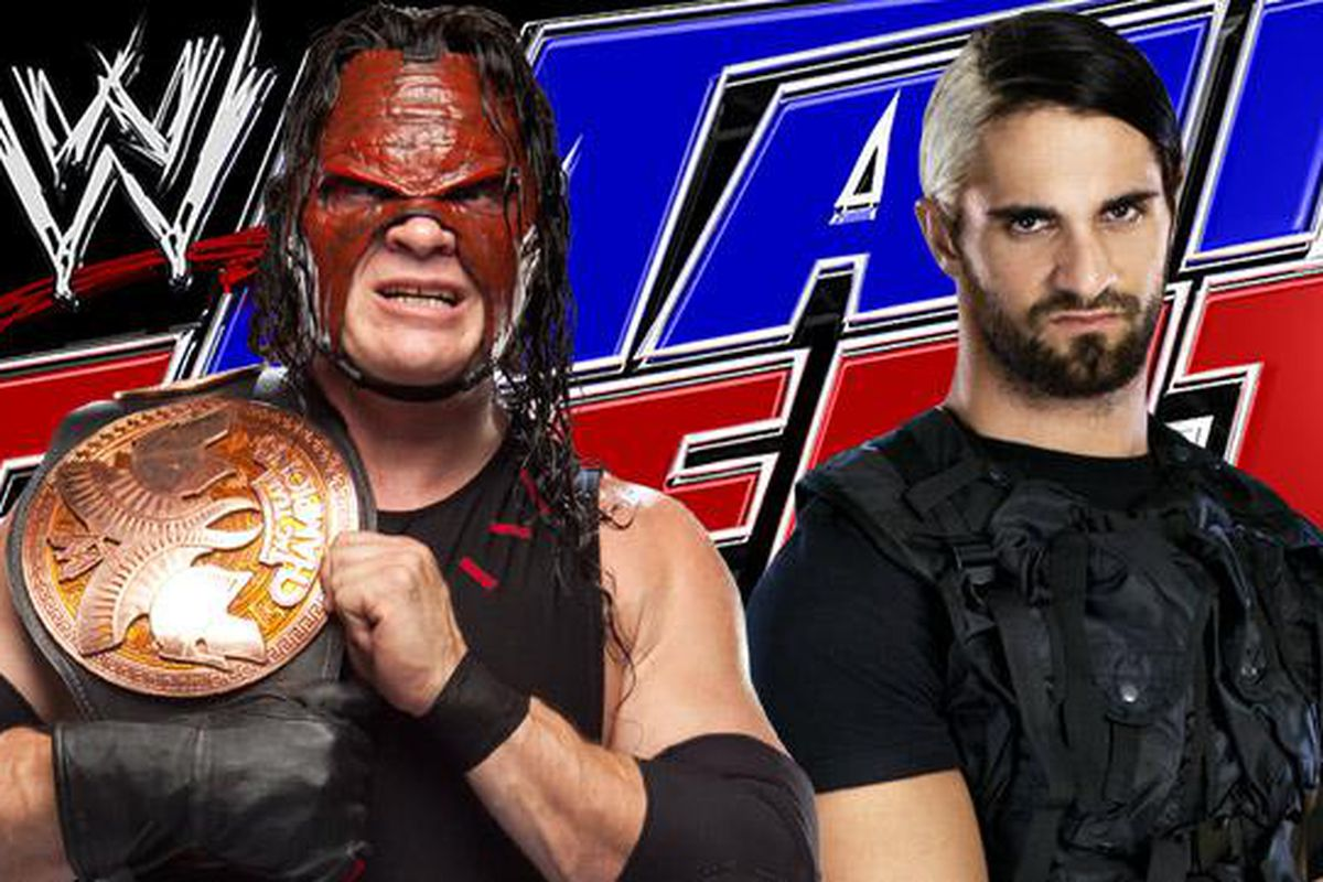 Tag team champion kane faces shield member seth rollins on wwe main event tonight may 15 wwe com fairuse