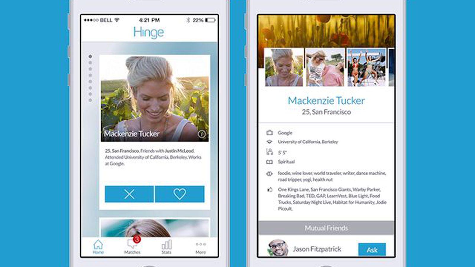 hinge dating app deutschland