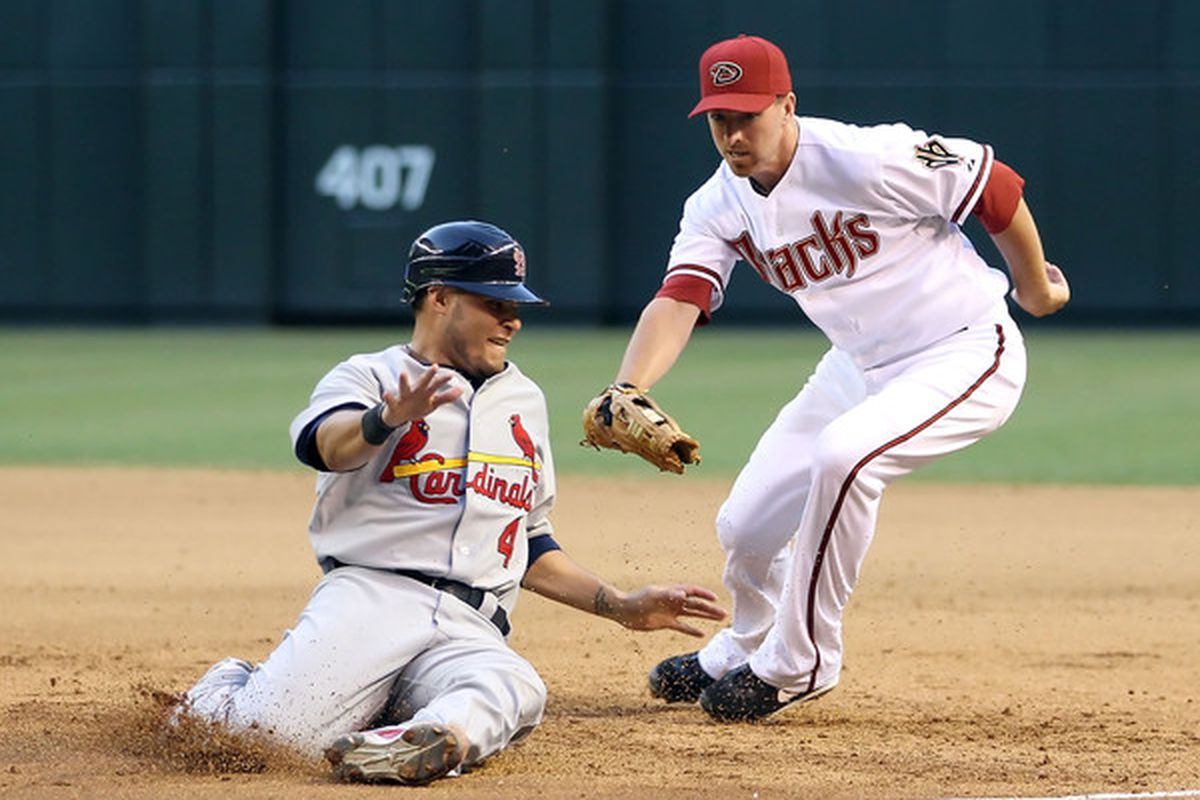 Could Adam LaRoche have tried a little harder to tag out Yadier Molina last Friday? Probably.