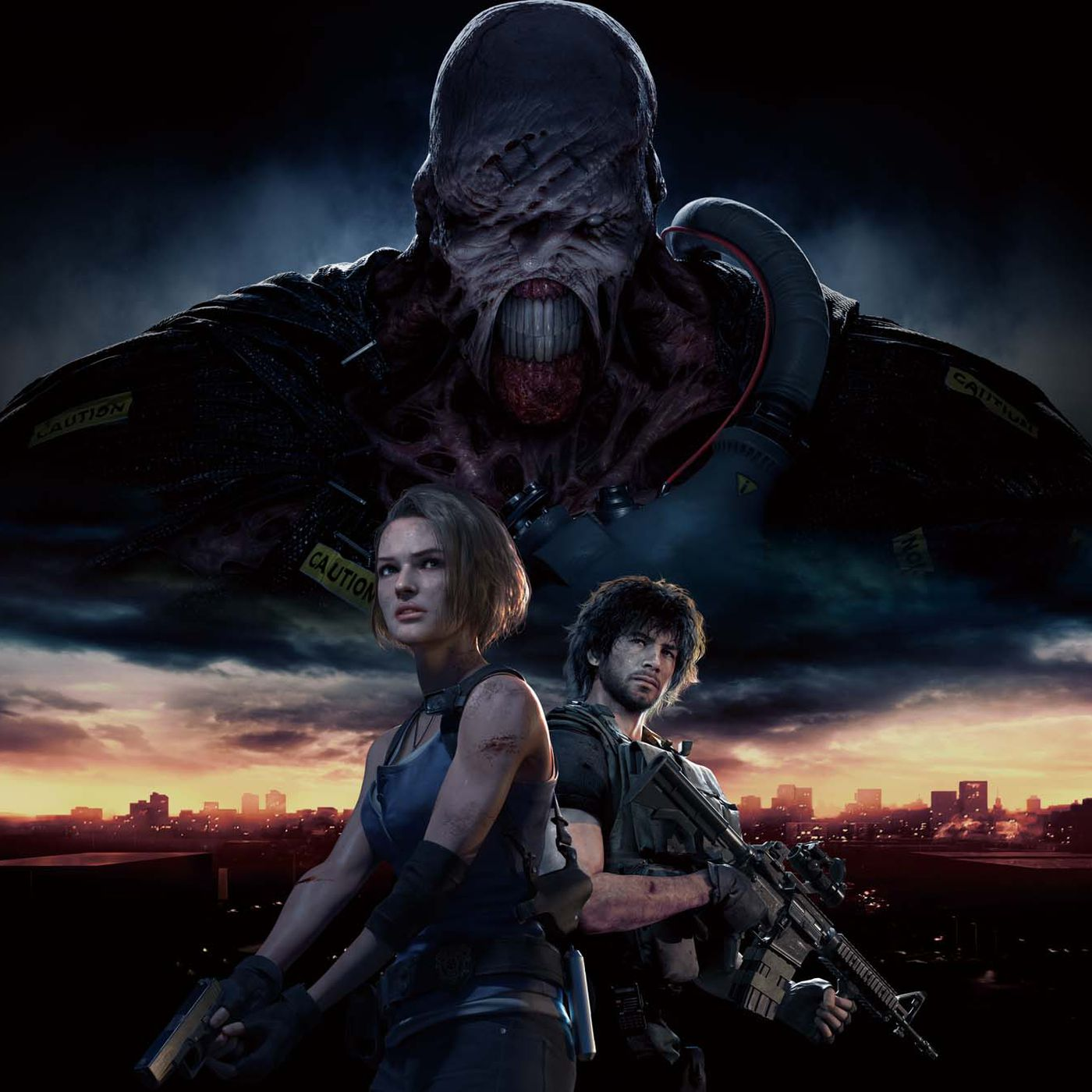 Nemesis Terrifying Growl A Resident Evil 3 Teaser Now Haunts The Re2 Remake Polygon