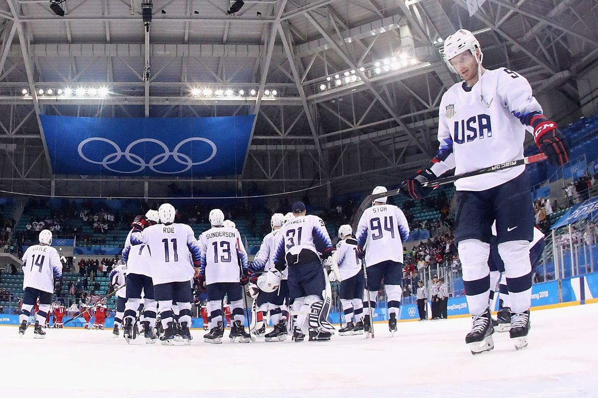 2018 Olympics  USA men s hockey s failure to medal a frustrating ... 45a76e61b