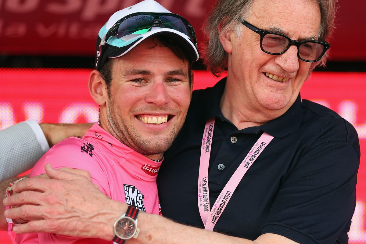 Cavendish and jersey designer Paul Smith