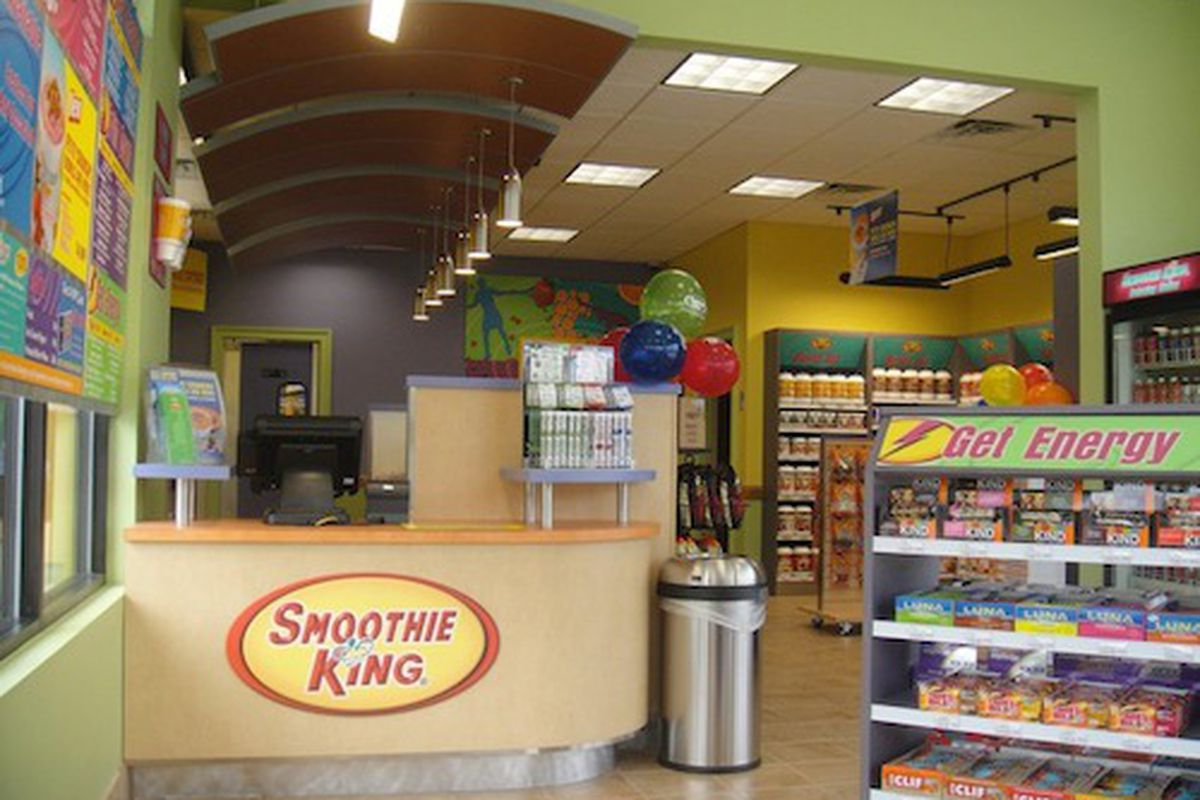 The Smoothie King in Hammond.