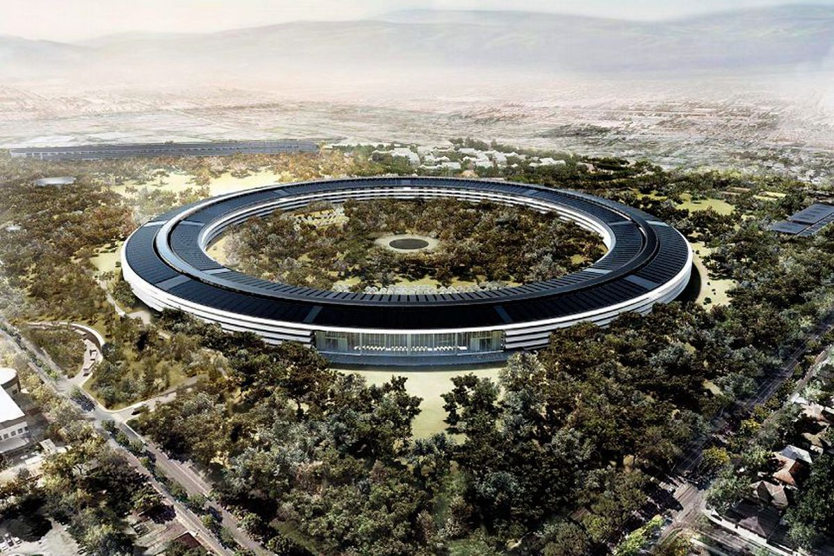 Apple Replaces Lead Contractor on New 'Spaceship' Campus - Vox