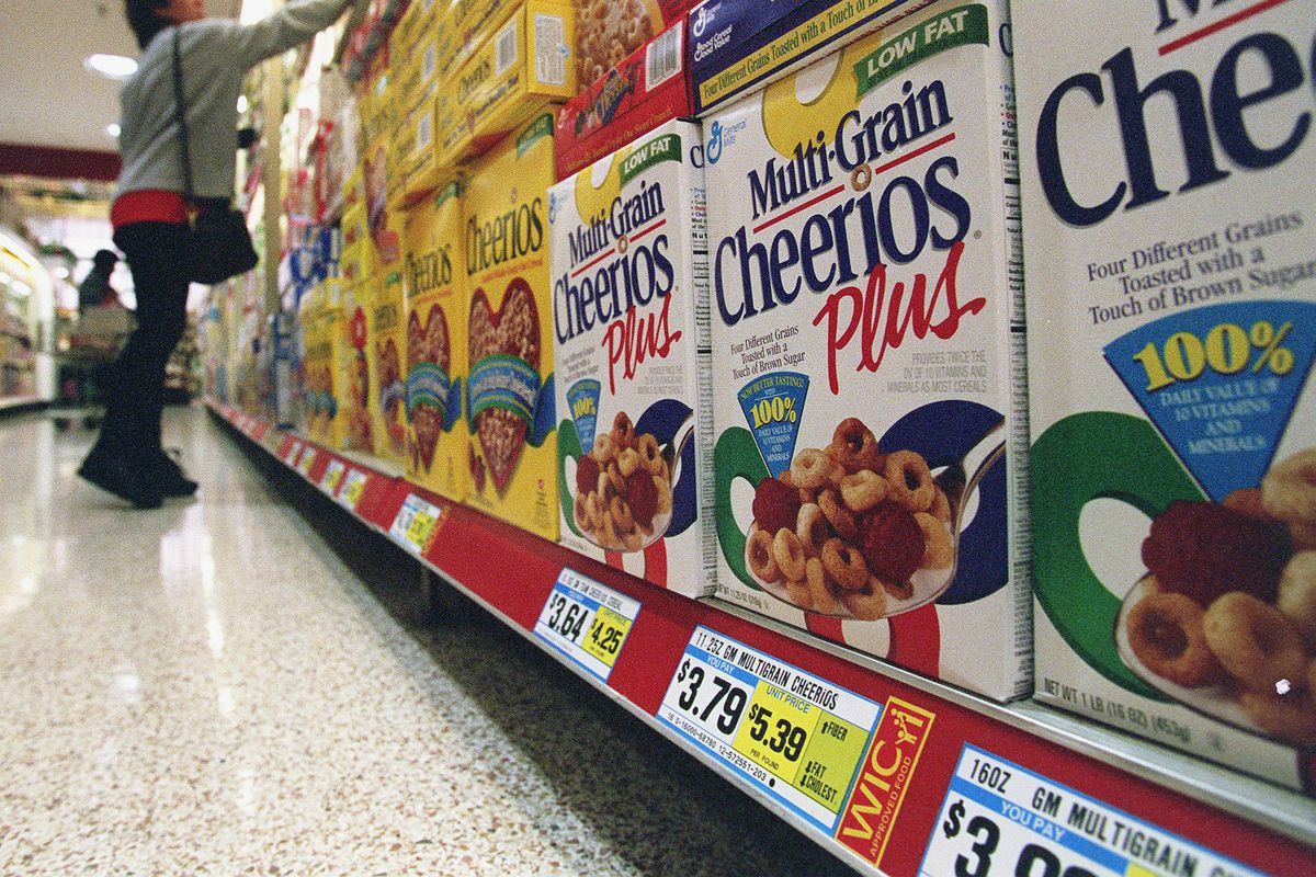 WOMEN,INFANTS AND CHILDREN NUTRITION PROGRAM----Cheerios and