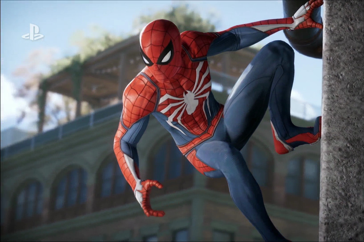 insomniac u0027s spider man game will have different suit options
