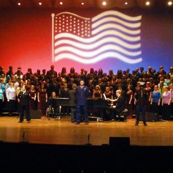 """The theme of this year's Ogden LDS Institute Spring Show is """"Remember When -- A Worthy Tribute"""" and features more than 200 young adults from the Institute Chorale, Choralaires and Folk Dancers."""