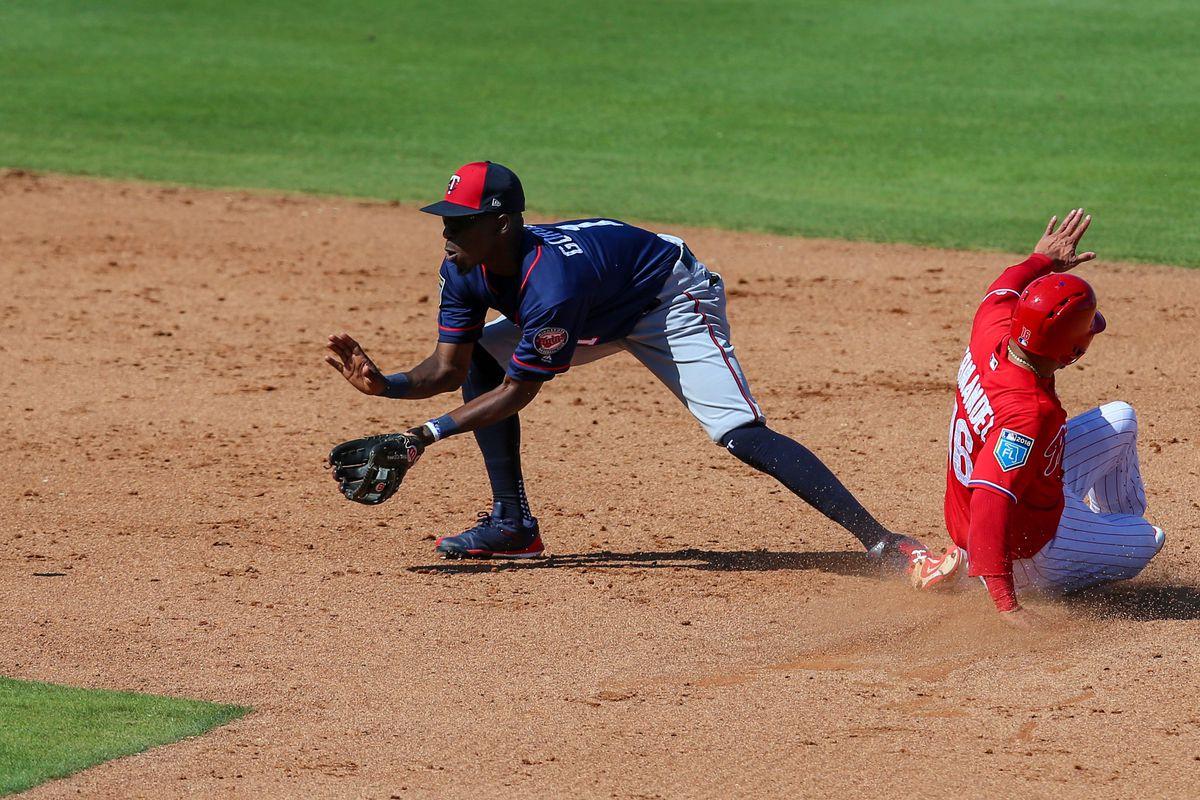 MLB: Spring Training-Minnesota Twins at Philadelphia Phillies