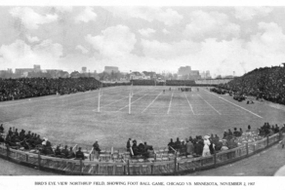 Maroons vs Gophers 1907