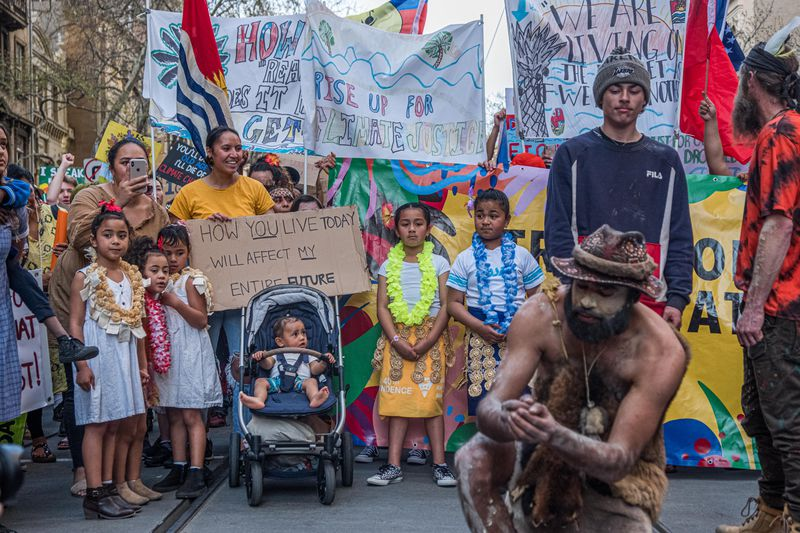 Australians Rally For Climate Action As Part Of Global Climate Strike