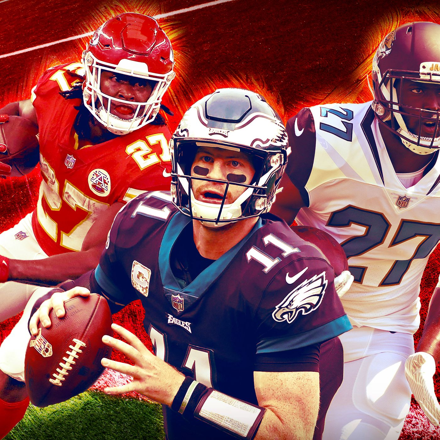 Hello Chiefs Eagles And Jaguars The 2017 Redzone Power