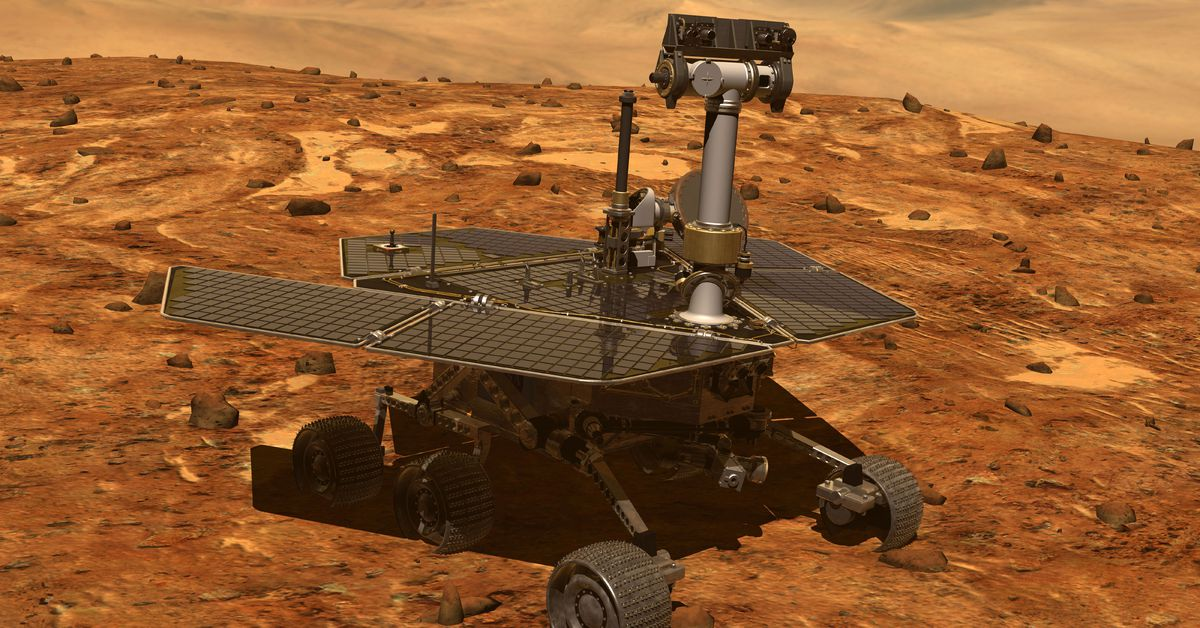 NASA's Opportunity rover is in a deep sleep on Mars — but there's hope it will wake up again