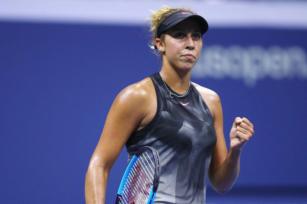 "US Open: Madison Keys into quarters"""