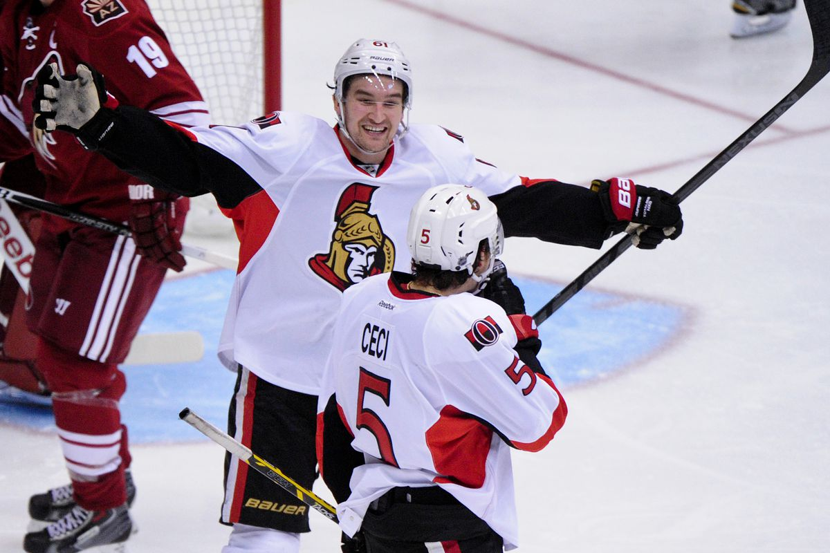 One, a 6th round pick. One, a first round pick. Both key parts of the Sens future.