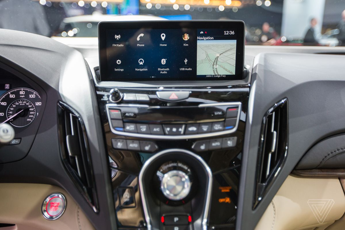 Acura Hides A Slick Android Based Interface In Yet Another Suv The