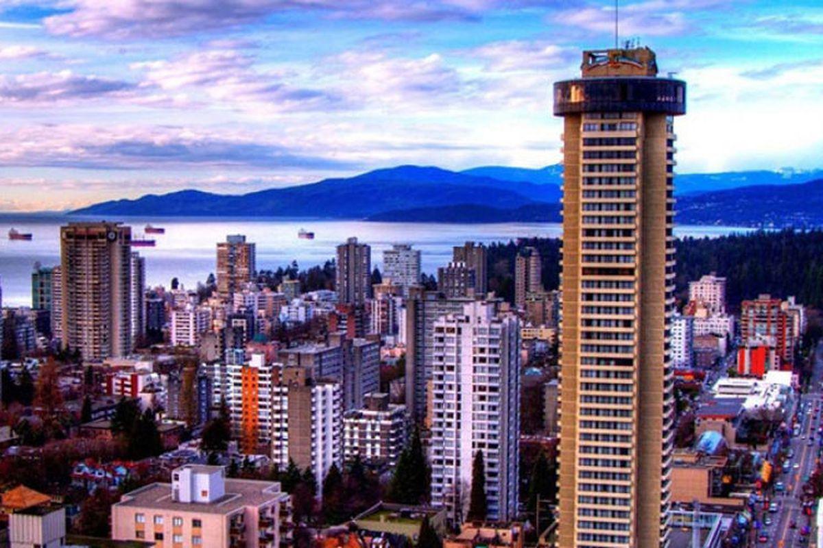 Empire Landmark Hotel in Vancouver, Canada.