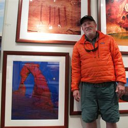 At Tom Till's gallery in Moab, you can see photographs  of Delicate Arch in all of its many moods and splendor.