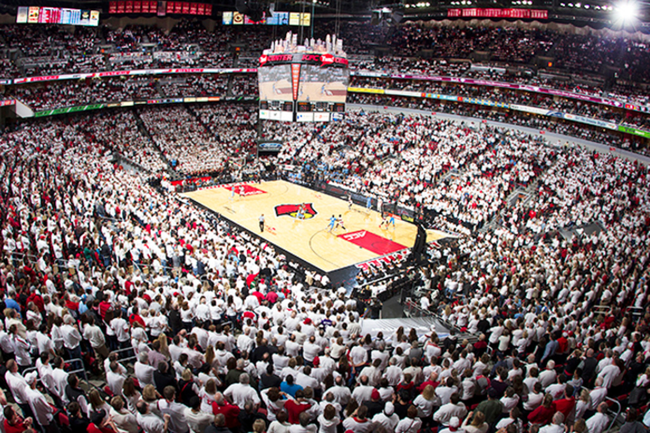 It's a White Out tonight at the KFC Yum Center