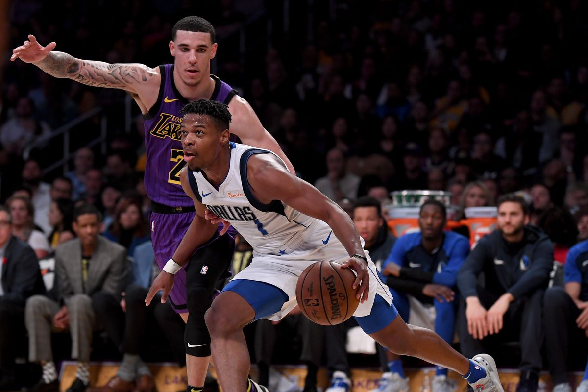 bfaee226b54 NBA Trade Rumors  Lakers reportedly discussed trade for Dennis Smith ...