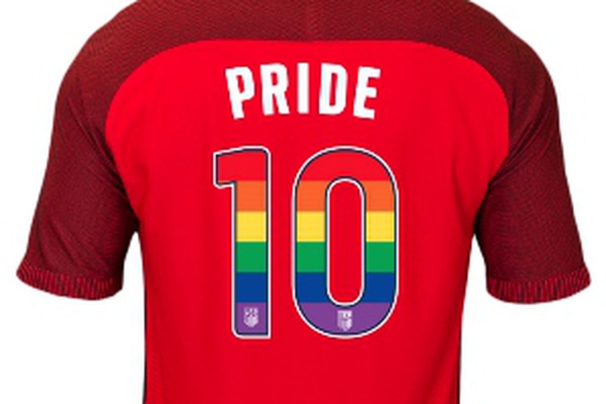 US Soccer will don some gay apparel for Pride Month - Outsports c03426550