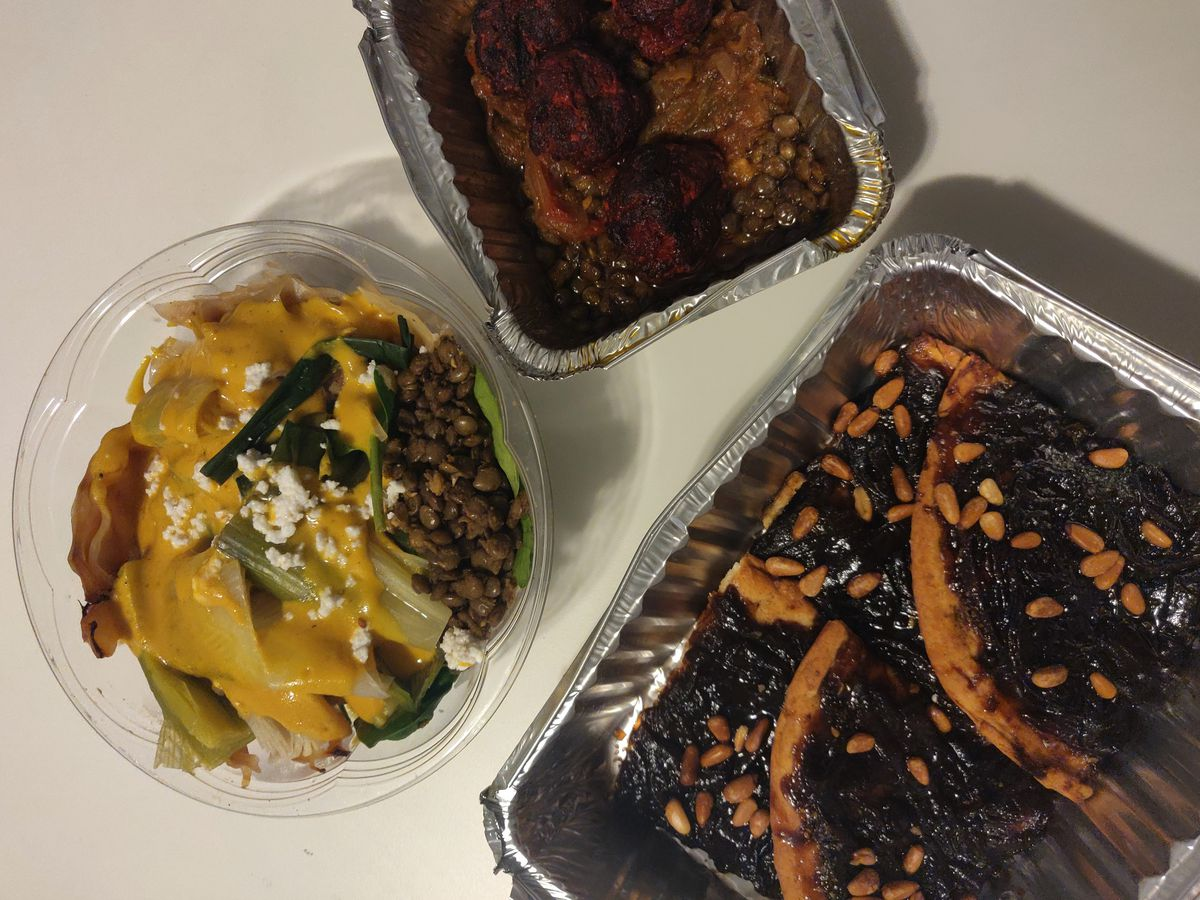 Assorted dishes from Baraka Cuisine