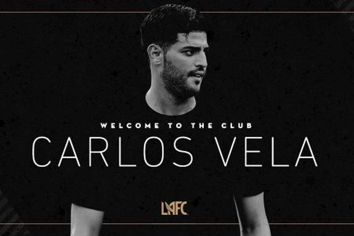 Official Lafc Announce Signing Of Carlos Vela Angels On