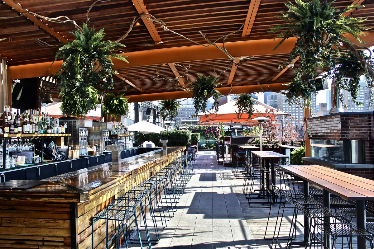 Where To Take Advantage Of The Warming Weather With A Drink And Some Food