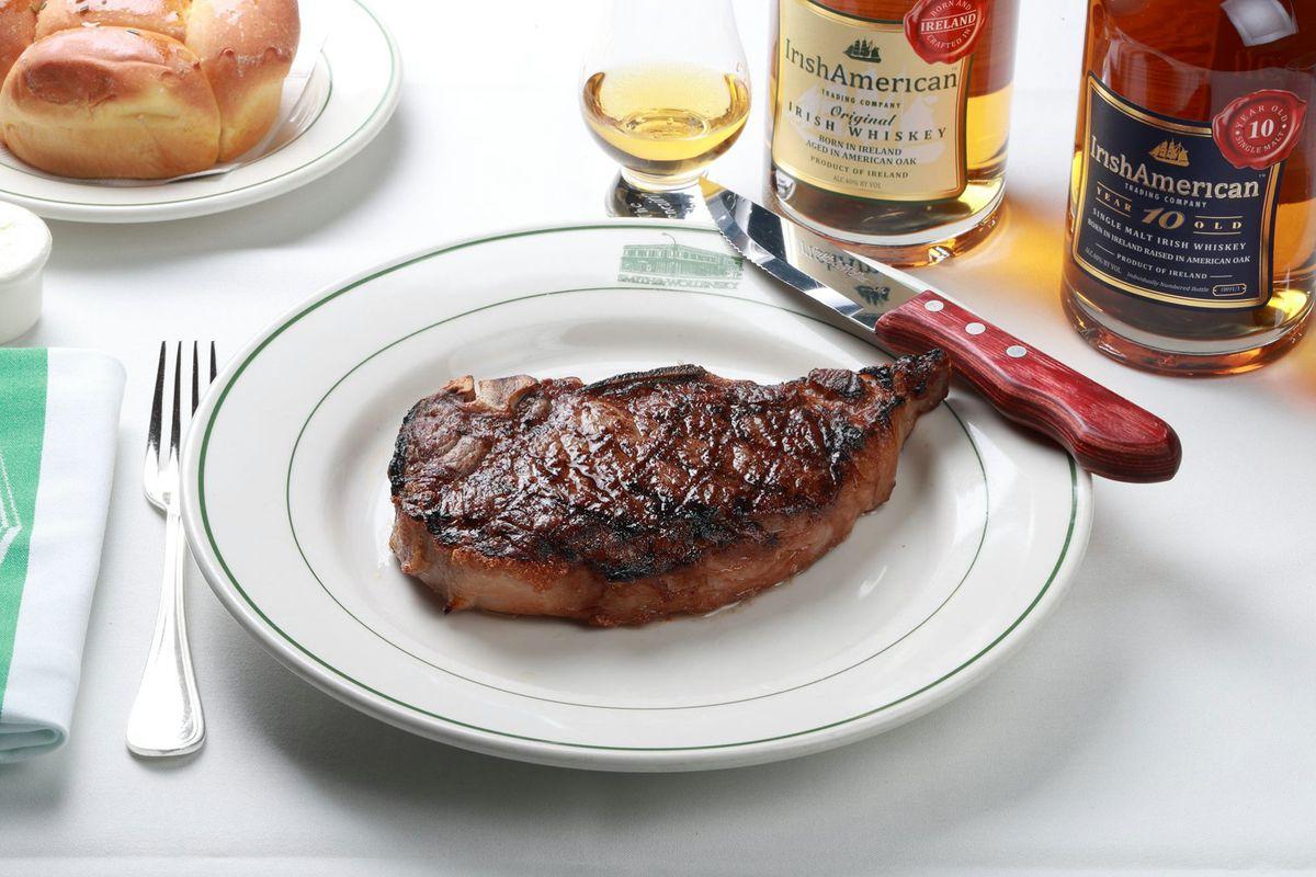 Steak at Smith & Wollensky